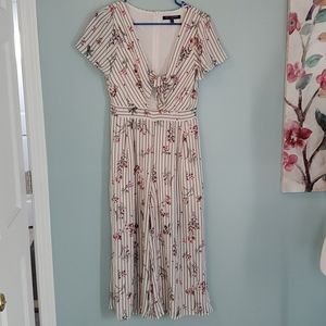 One Clothing Floral Print Jumpsuit Small